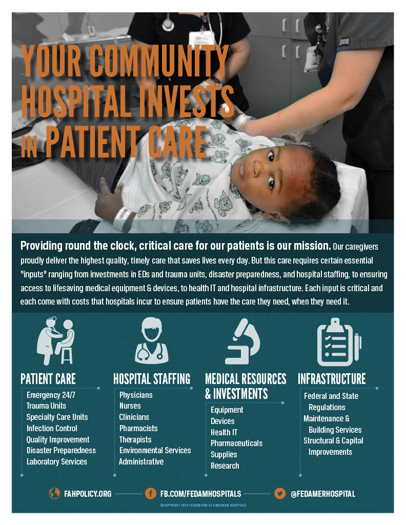 Your Community Hospital Invests in Patient Care
